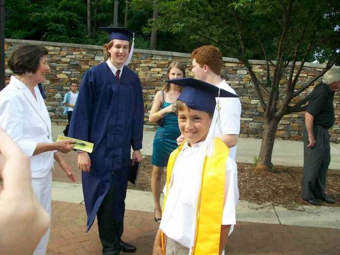 Robert's Graduation